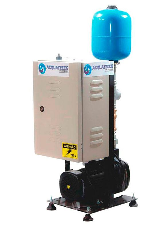 Pressurização de água residencial