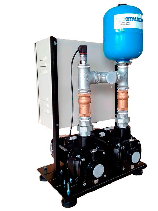 Pressurização de água