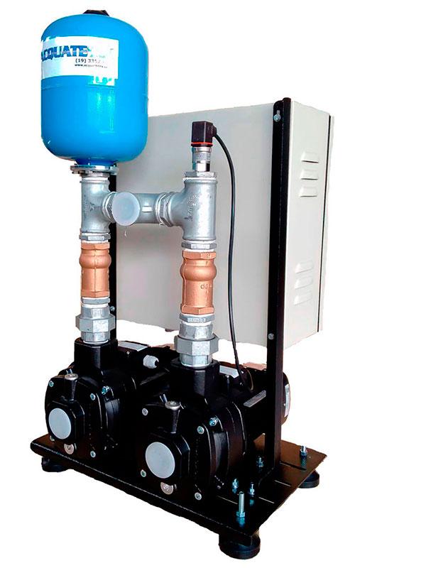 Pressurizar água quente e fria