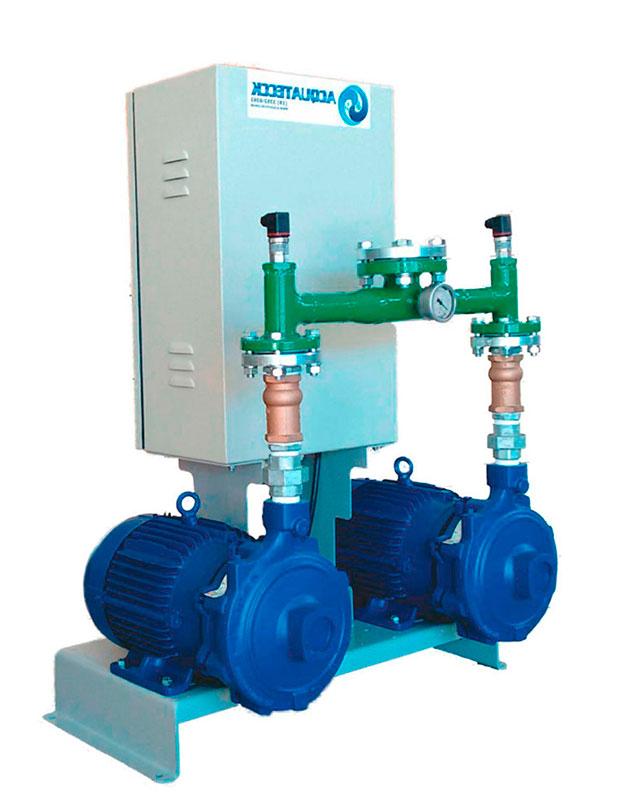 Sistema de recalque de água